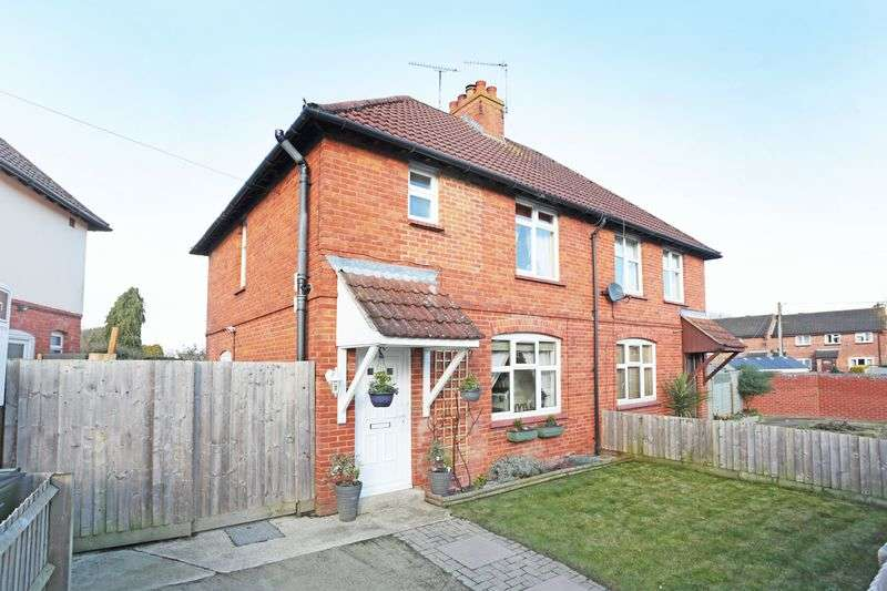 3 Bedrooms Semi Detached House for sale in Roseland Avenue, Devizes