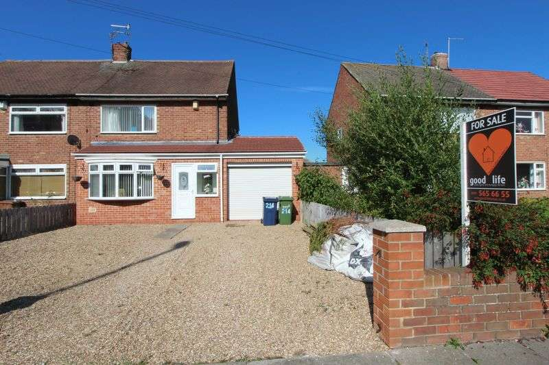 2 Bedrooms Semi Detached House for sale in 214 Leechmere Road, Leechmere, Sunderland