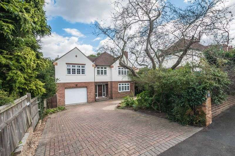 5 Bedrooms Detached House for sale in Belmont Park Avenue, Maidenhead