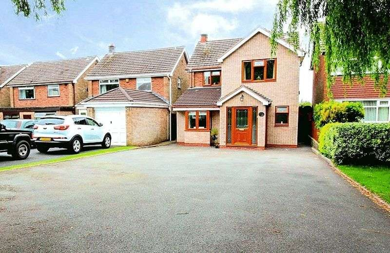 4 Bedrooms Detached House for sale in High Park Crescent, Dudley