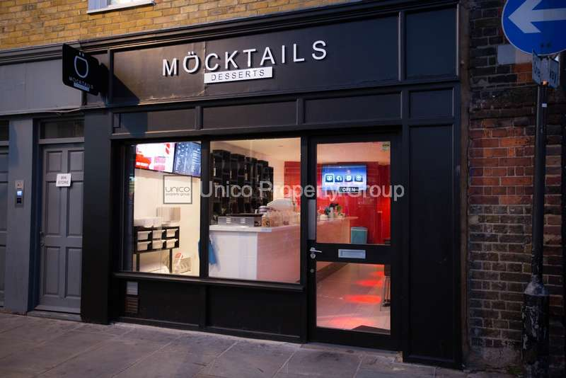 Shop Commercial for sale in Roman Road, Bow, E3