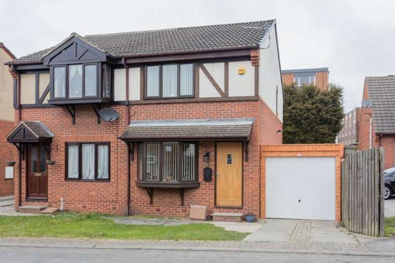 2 Bedrooms Semi Detached House for sale in St. Michaels Green, Normanton, West Yorkshire, WF6