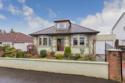 2 Bedrooms Bungalow for sale in Kinarvie Road, Glasgow, Lanarkshire