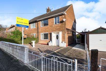 3 Bedrooms Semi Detached House for sale in Kinder Road, Inkersall, Chesterfield, Derbyshire
