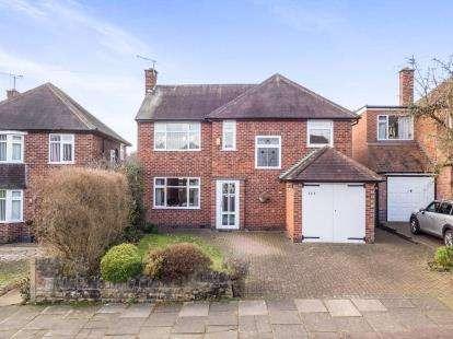 3 Bedrooms Detached House for sale in Arundel Drive, Bramcote, Nottingham, Nottinghamshire