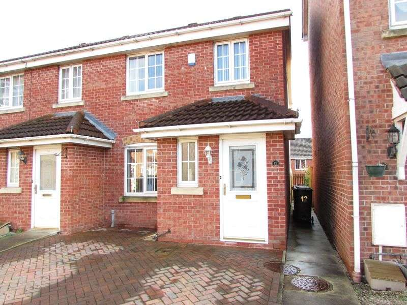 3 Bedrooms Semi Detached House for sale in Kingsdale Close, Bury - Cul De Sac