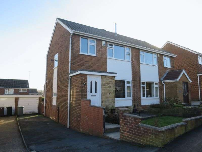 3 Bedrooms Semi Detached House for sale in Harwill Road, Churwell, Leeds