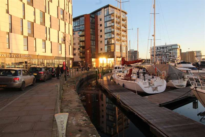 1 Bedroom Apartment Flat for sale in Neptune Marina, Ipswich Waterfront - Garden Terrace With Water Views