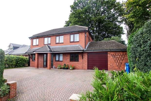 4 Bedrooms Detached House for sale in Brownsfield Road, Lichfield, Staffordshire