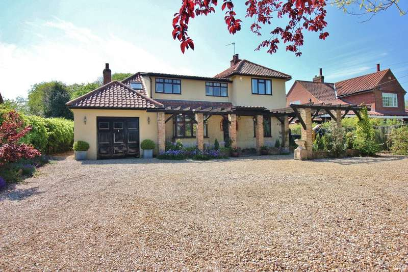 4 Bedrooms Detached House for sale in Mill Road, Horstead