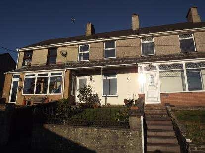 3 Bedrooms Terraced House for sale in Coed Madog Road, Talysarn, Caernarfon, Gwynedd, LL54