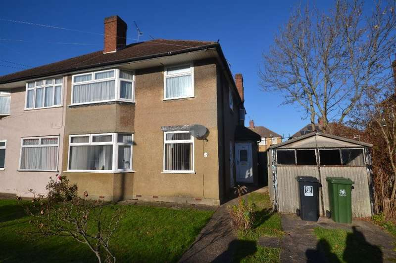 2 Bedrooms Maisonette Flat for sale in Briar Road, Watford, Herts