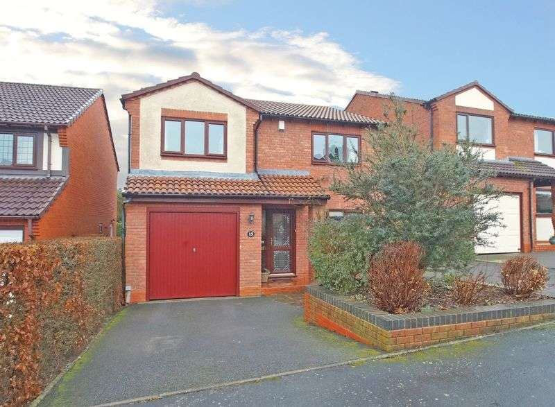 4 Bedrooms Detached House for sale in Miller Close, Stoke Heath. Bromsgrove