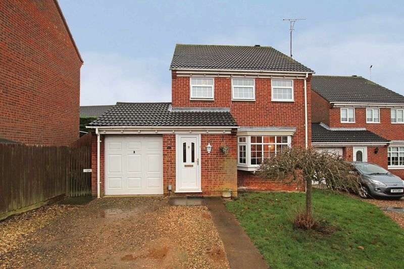 4 Bedrooms Detached House for sale in Jacklin Court, Wellingborough