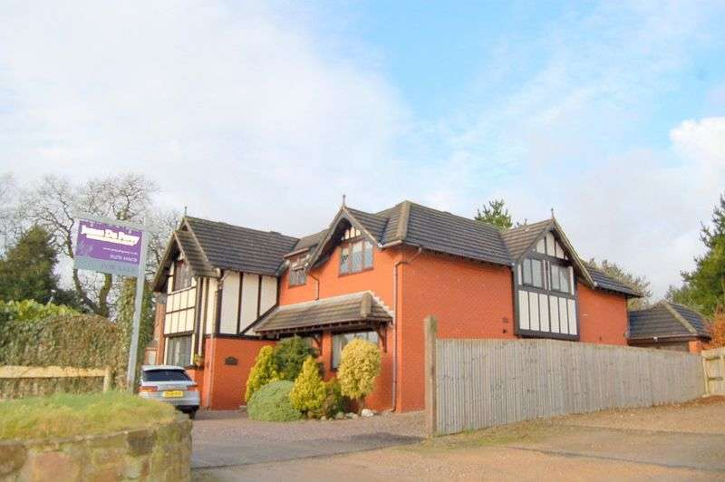 5 Bedrooms Detached House for sale in Audlem Road, Woore