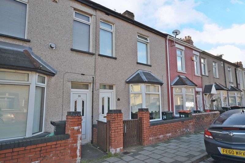 2 Bedrooms Terraced House for sale in Stylish Bay-Fronted House, Fairfax Road, Newport