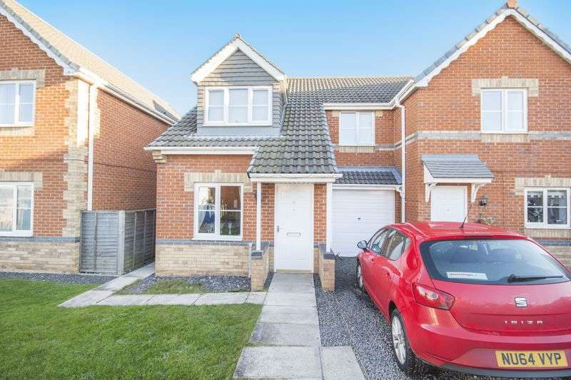 3 Bedrooms Semi Detached House for sale in Holyhead Court, Eston, TS6 9TF