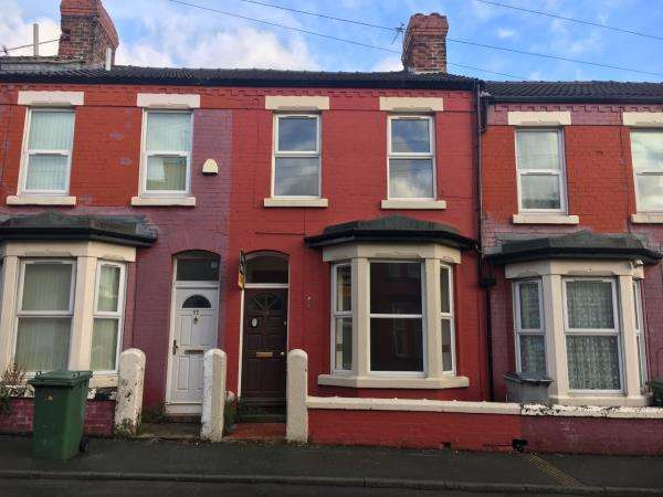 3 Bedrooms Terraced House for sale in 59 PALATINE ROAD, WALLASEY, MERSEYSIDE