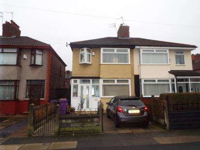 3 Bedrooms Semi Detached House for sale in Richland Road, Liverpool, Merseyside, England, L13