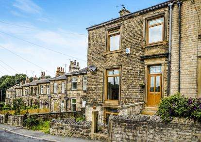 2 Bedrooms End Of Terrace House for sale in Ladyhouse Lane, Huddersfield, West Yorkshire, Huddersfield