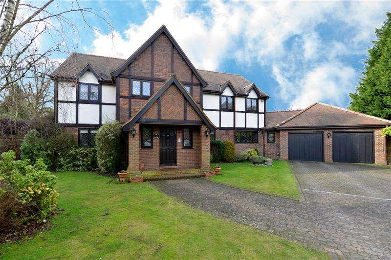5 Bedrooms Detached House for sale in Carrington Close, Arkley, Hertfordshire, EN5