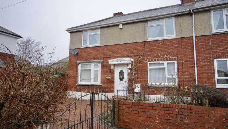 3 Bedrooms Semi Detached House for sale in HAGGIE AVENUE, Wallsend