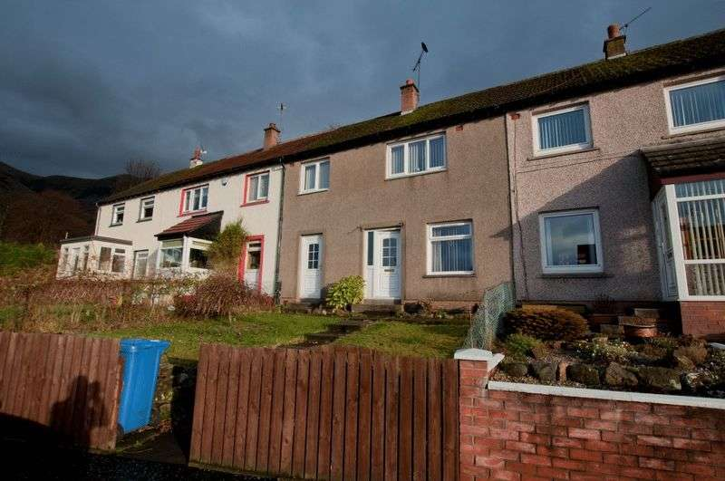 3 Bedrooms Terraced House for sale in Johnston Crescent, Tillicoultry