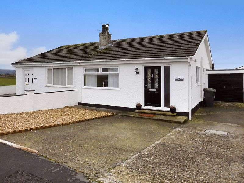 2 Bedrooms Semi Detached Bungalow for sale in Gaerwen