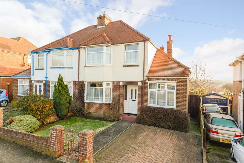 3 Bedrooms Semi Detached House for sale in Walton Gardens, Folkestone, CT19