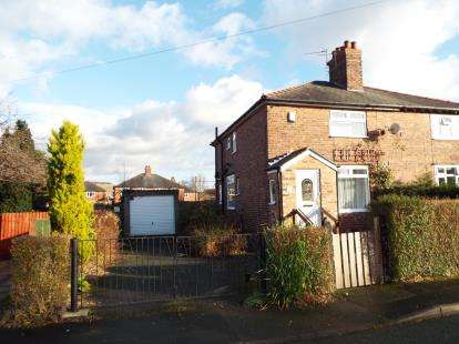 2 Bedrooms Semi Detached House for sale in Merriman Avenue, Knutsford, Cheshire