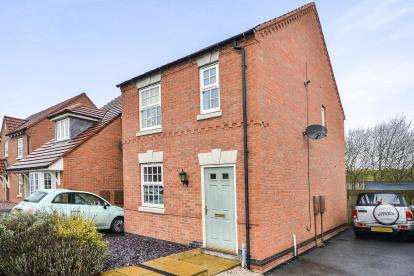 3 Bedrooms Semi Detached House for sale in The Hay Fields, Rainworth, Mansfield