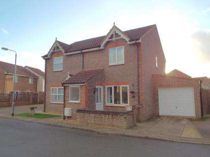 2 Bedrooms Semi Detached House for sale in Taverham, Norwich, Norfolk