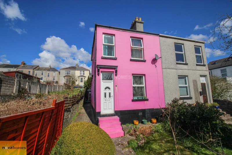 3 Bedrooms Semi Detached House for sale in Brandon Road, Laira, PL3 6AT