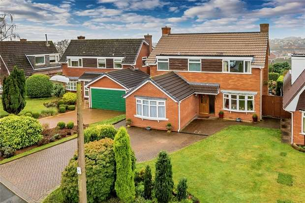 5 Bedrooms Detached House for sale in 6 Stretton Close, Sutton Hill, Telford, Shropshire