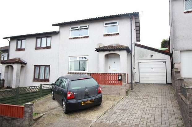 3 Bedrooms Semi Detached House for sale in Eppynt Close, Risca, NEWPORT, Caerphilly