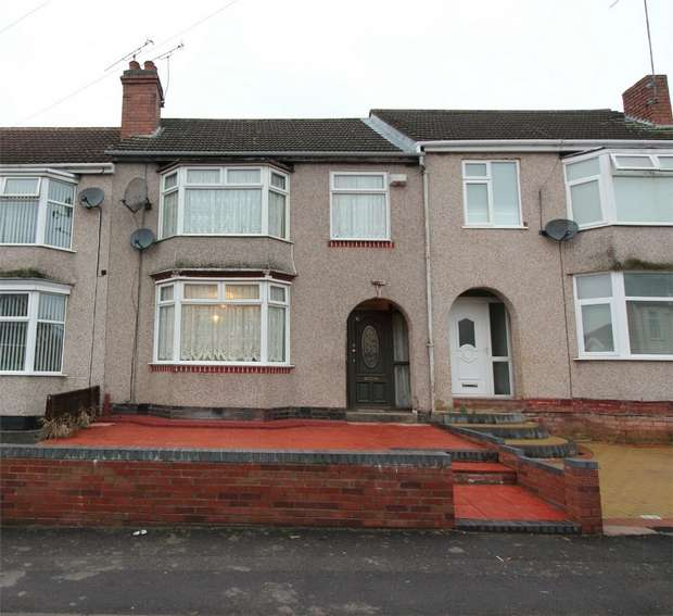 3 Bedrooms Terraced House for sale in Oakfield Road, Coundon, Coventry