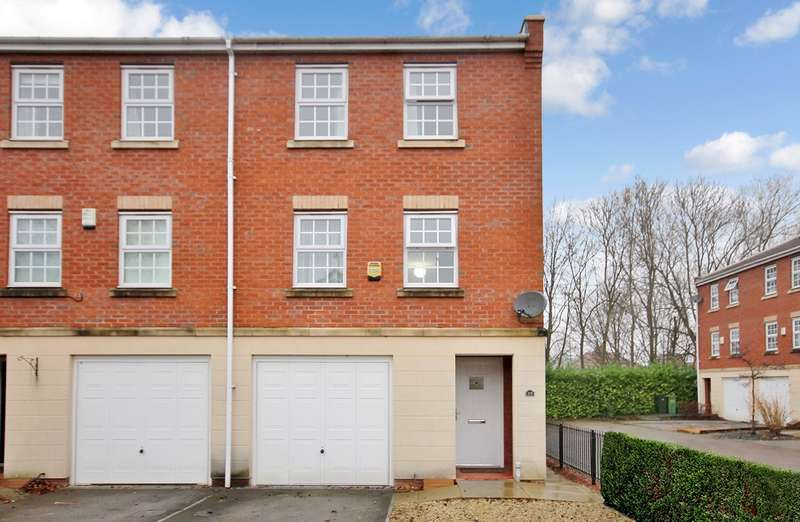 4 Bedrooms Semi Detached House for sale in Duchess Mews, York, YO26