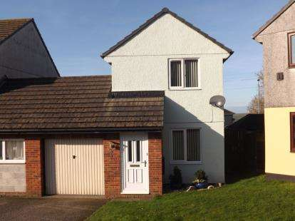 2 Bedrooms Link Detached House for sale in Fraddon, St. Columb, Cornwall