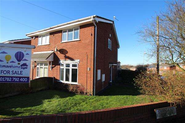2 Bedrooms Semi Detached House for sale in Swanland Grove, Meir Hay, Stoke-on-Trent