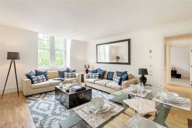 2 Bedrooms Apartment Flat for sale in Mathison House, Coleridge Gardens, London, SW10