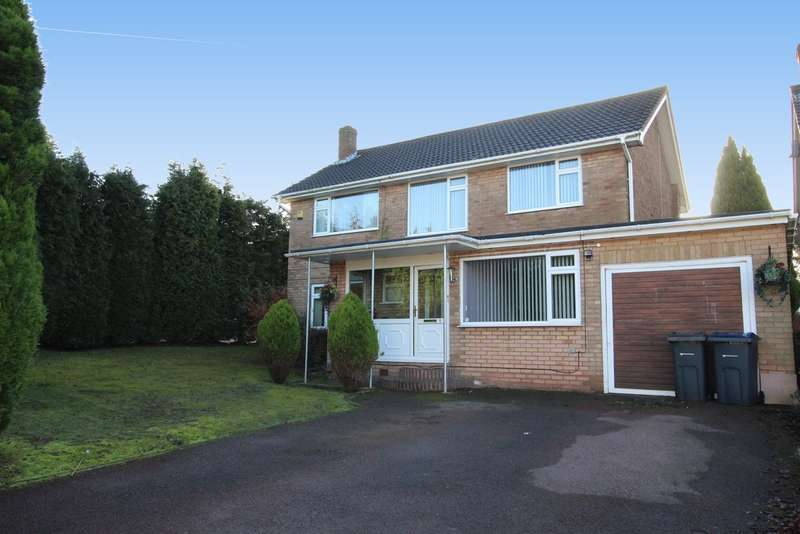 4 Bedrooms Detached House for sale in Carlton Close, Sutton Coldfield, B75 6BX