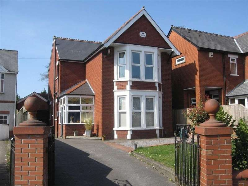 3 Bedrooms Detached House for sale in Colcot Road, Barry. Vale of Glamorgan CF62 8HJ