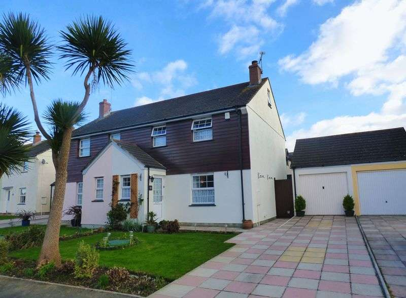4 Bedrooms Semi Detached House for sale in St Petry, Goldsithney, Penzance