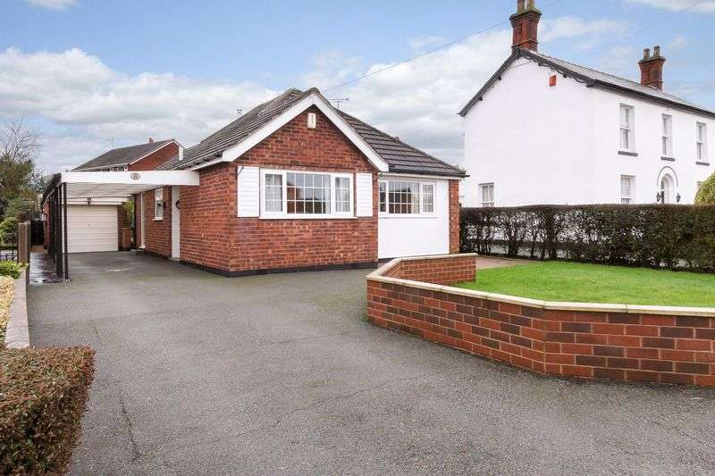 2 Bedrooms Detached Bungalow for sale in Birches Lane, Lostock Green, Northwich