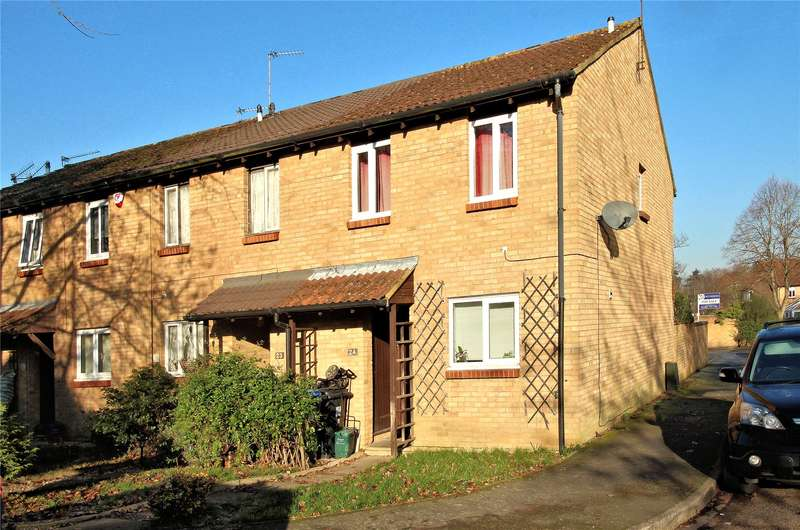 3 Bedrooms End Of Terrace House for sale in Venton Close, Woking, Surrey, GU21