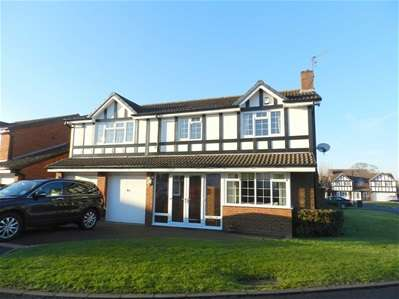 6 Bedrooms Detached House for sale in Ferndown Close, Turnberry Estate, Walsall