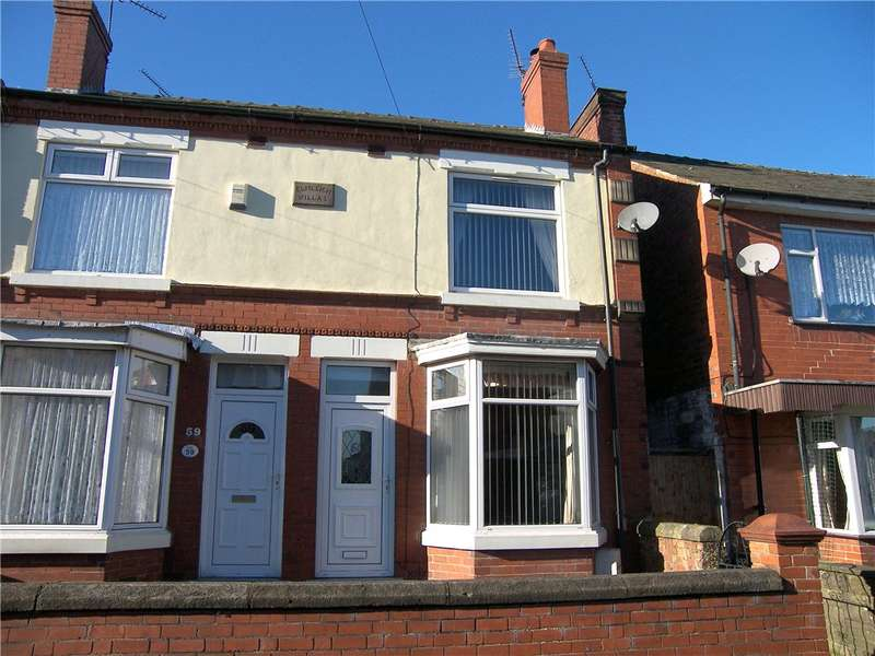 3 Bedrooms Semi Detached House for sale in Ellesmere Avenue, Alfreton, Derbyshire, DE55