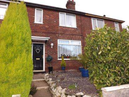 3 Bedrooms Terraced House for sale in Woodside Crescent, Newcastle, Staffordshire