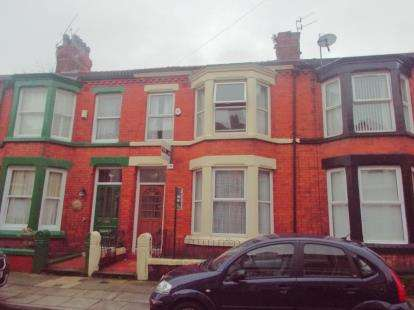4 Bedrooms Terraced House for sale in Ampthill Road, Liverpool, Merseyside, United Kingdom, L17