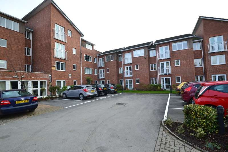 1 Bedroom Flat for sale in Woodgrove Court, Peter Street, Hazel Grove, Stockport SK7 4GD